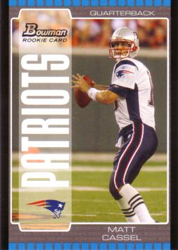 2005 Bowman Matt Cassel Rookie Card