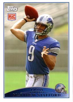 Matthew Stafford Rookie Card