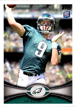 Nick Foles Rookie Card