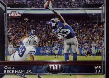 Odell Beckham Jr Topps Chrome Card - The Catch