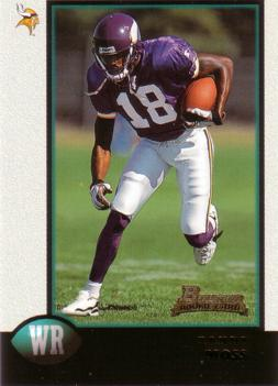 1998 Bowman Randy Moss Rookie Card