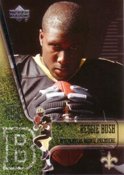 2006 Upper Deck Reggie Bush Rookie Card