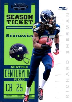 2012 Contenders Football Richard Sherman Rookie Card