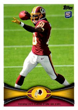2012 Topps Robert Griffin III Rookie Card