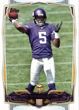 Teddy Bridgewater Rookie Card