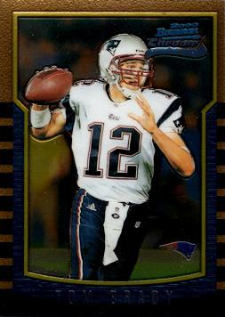 2000 Bowman Chrome Tom Brady Rookie Card