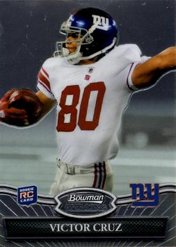 2010 Bowman Sterling Victor Cruz Rookie Card