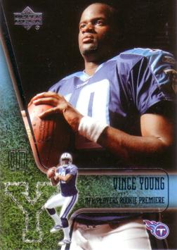 2006 Upper Deck Vince Young Rookie Card