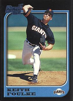 1997 Bowman Keith Foulke Rookie Card