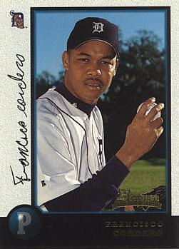 1998 Bowman Francisco Cordero Rookie Card