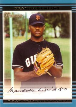 2002 Bowman Francisco Liriano Rookie Card