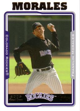 Franklin Morales Rookie Card