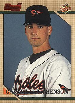 1996 Bowman Garrett Stephenson Rookie Card