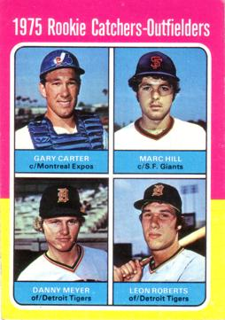 1975 Topps Gary Carter Rookie Card