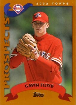 2002 Topps Traded Gavin Floyd Rookie Card