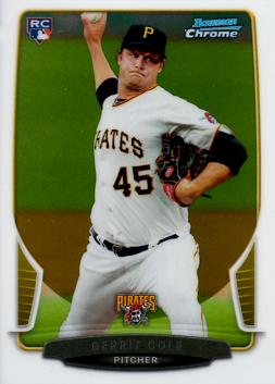 2013 Bowman Chrome Gerrit Cole Rookie Card