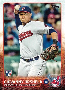 2015 Topps Update Baseball Gio Urshela Rookie Card