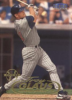 1998 Fleer Update Troy Glaus rookie card
