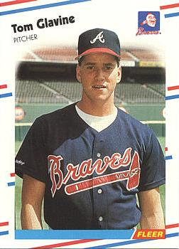 Tom Glavine Rookie Card