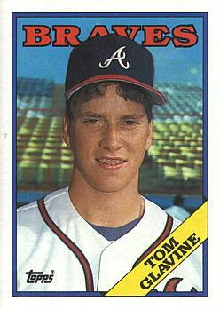 1988 Topps Baseball Tom Glavine Rookie Card