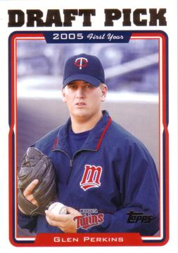 2005 Topps Glen Perkins Rookie Card