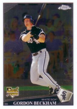 Gordon Beckham Topps Chrome Rookie Card