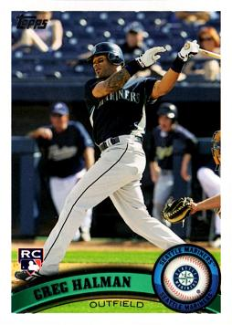 2011 Topps Greg Halman Rookie Card