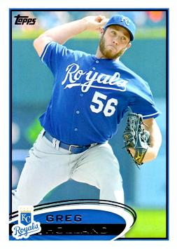 Greg Holland Rookie Card
