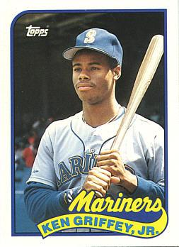 1989 Topps Traded Ken Griffey Jr. Rookie Card