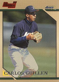 1996 Bowman Carlos Guillen rookie card