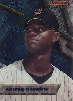 1994 Bowman's Best LaTroy Hawkins Rookie Card