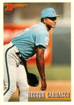 1993 Bowman Hector Carrasco Rookie Card