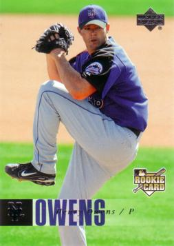2006 Upper Deck Henry Owens Rookie Card