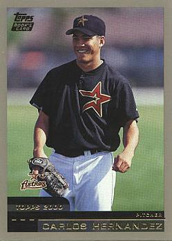 2000 Topps Traded Carlos Hernandez Rookie Card
