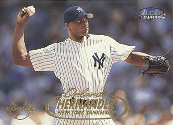 1998 Fleer Update Orlando Hernandez Rookie Card