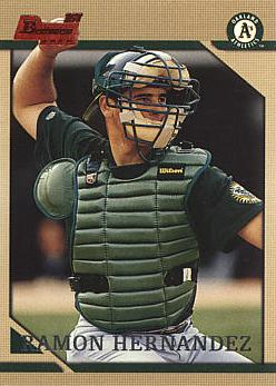 1996 Bowman RamondHernandez Rookie Card