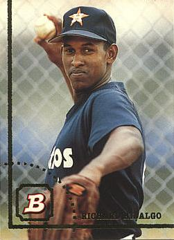 1994 Bowman Richard Hidalgo Rookie Card