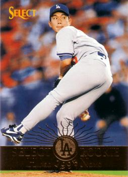 1995 Select Hideo Nomo Rookie Card