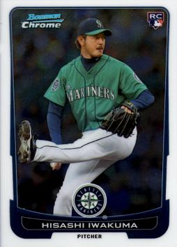 2012 Bowman Chrome Draft Hisashi Iwakuma Rookie Card