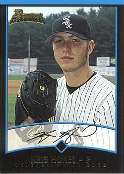 2001 Bowman Draft Picks Kris Honel Rookie Card