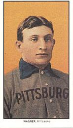 Honus Wagner Reprint Card