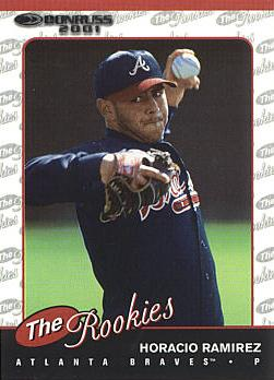 2001 Donruss Rookies Horacio Ramirez Rookie Card
