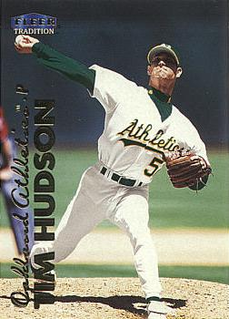 1999 Fleer Update Tim Hudson rookie card