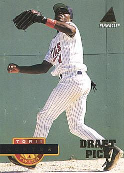 Torii Hunter Rookie Card