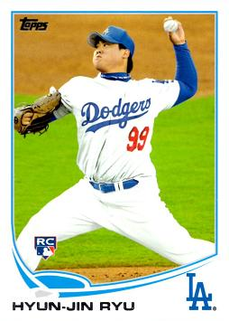 Hyun-Jin Ryu Rookie Card