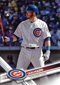 2017 Topps Update Baseball Ian Happ Rookie Card