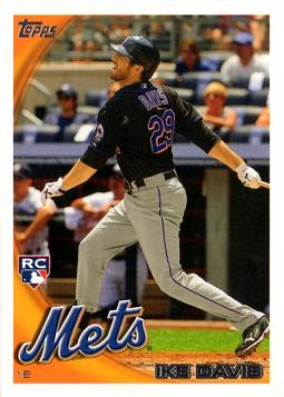 2010 Topps Update Ike Davis Rookie Card