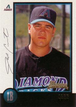 1998 Bowman Jack Cust Rookie Card