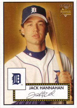 Jack Hannahan Rookie Card