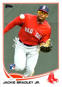 Jackie Bradley Jr Rookie Card
